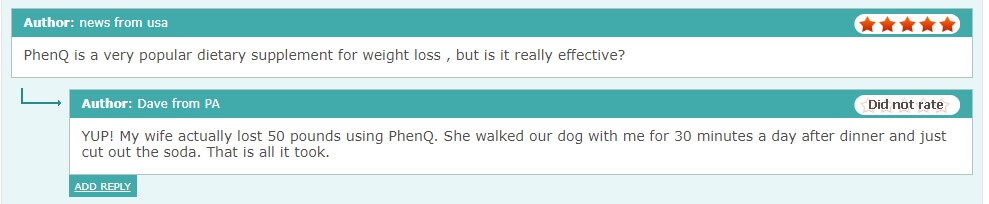 PhenQ comments